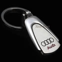 audi keyring key chain a3 a4 a6 tt ring fob chrome