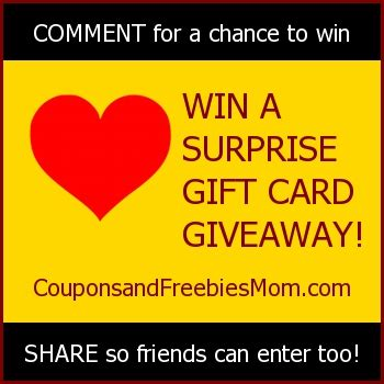Gift Card Giveaway On Facebook - surprise gift card giveaway on facebook coupons and freebies mom