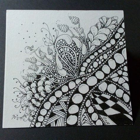 zentangle pattern zinger how many patterns in this tile baton poke root flux