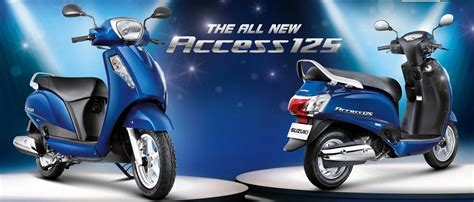 New Suzuki Scooters New Suzuki Access 125 Scooter Leaked Bike News