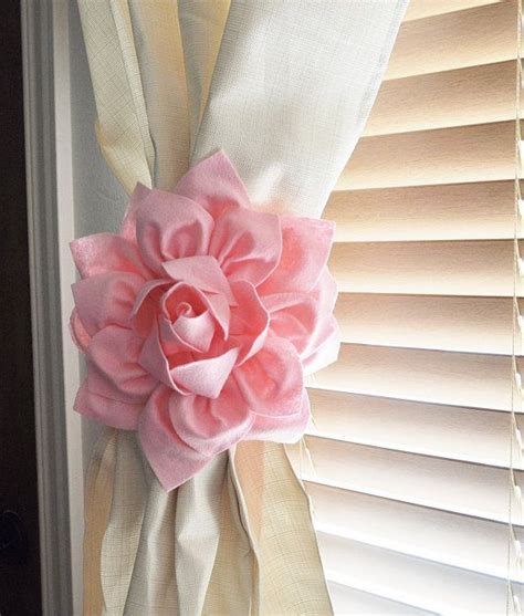 17 Best Ideas About Pink Curtain Holdbacks On Pinterest Curtain Tie Backs For Nursery