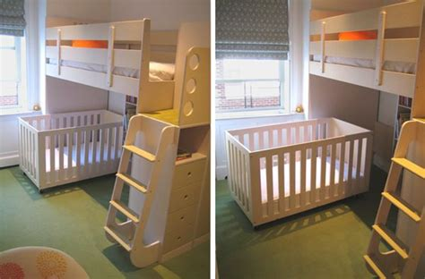 Loft Bed With Crib If It Turns Out To Be A Boy This Is What I Plan On Doing In And Said Baby Brothers Room