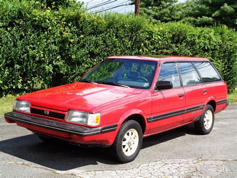 old subaru wagon 1987 subaru gl 10 awd turbo wagon