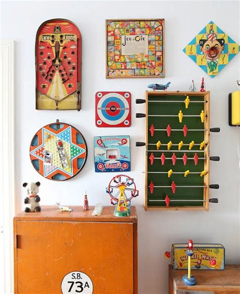 juegos de home design story pared decorada con juegos vintage