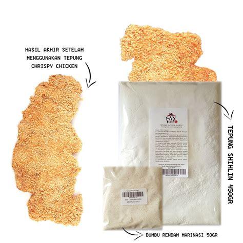 Premix Taiwan Crispy Chicken paket tepung shihlin 500gr tepung crispy chicken
