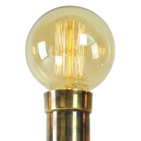 large globe light bulbs amber tint vintage edison light globe shape with