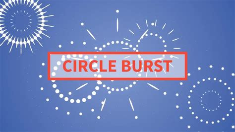 free after effects template circle burst assets circle burst stock motion graphics motion array