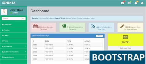 bootstrap templates for asp net master page free download top bootstrap admin themes 2014 popular