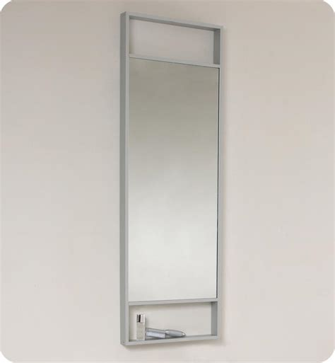 tall bathroom mirror 15 5 fresca pulito fvn8002wh small white modern