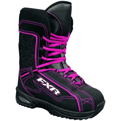 s youth fxr 174 cold cross snowmobile boots 219513
