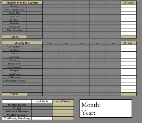 Home Bill Organizer The Weekend Organizer Finance Bill Organization
