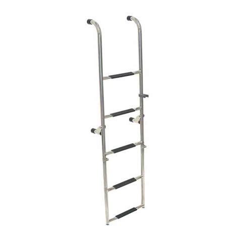 folding boat ladders sale west marine removable folding transom ladders west marine