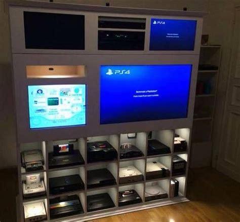 playstation schrank 17 migliori idee su console per videogiochi su