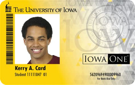 portrait id card template iowa one card id card programs