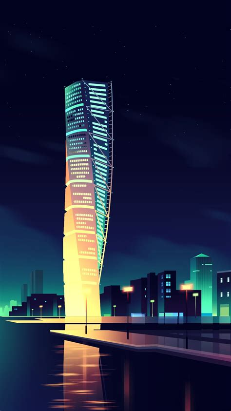 animated night city wallpaper iphone wallpaper iphone wallpapers