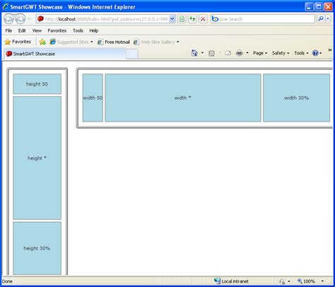 use of layout manager in java program using canvas to hold layout managers smart gwt layout