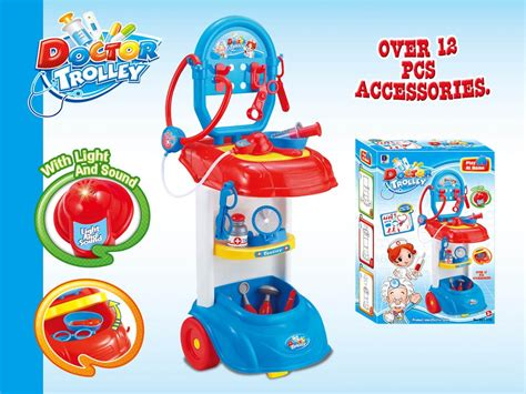 Dokter Playset Trolley Doctor Trolley Playset Ps70