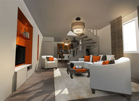 Am Nagement Appartement 50m2 by Fc Design Fabrice Casale