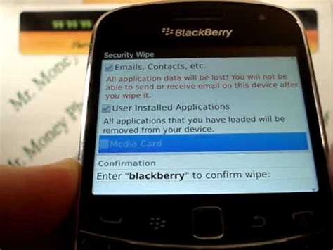 blackberry reset youtube hard reset blackberry bold 9900 wipe data master reset