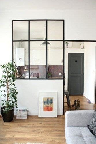 fenetre separation cuisine window with black frame wohnung fen 234 tre