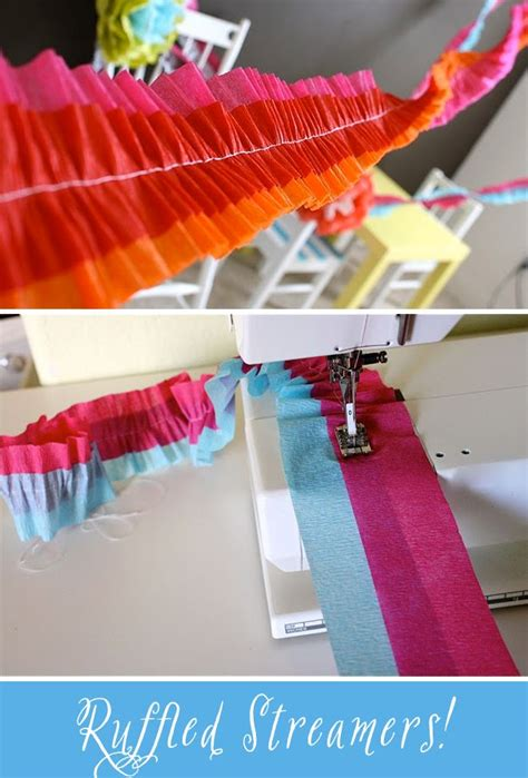 How To Make Crepe Paper Decorations - best 25 crepe paper streamers ideas on