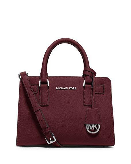 Michael Kors Small Satchel Luggage Ori michael michael kors dillon saffiano small satchel bag merlot
