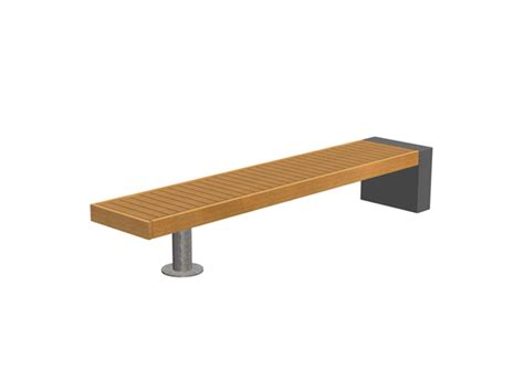bench supports elements post support seating bench and external seat