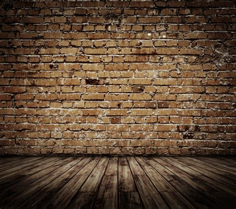 brick wall and wood floor hd wallpaper 1 abstract brick wall wooden floor theme vinyl custom photography