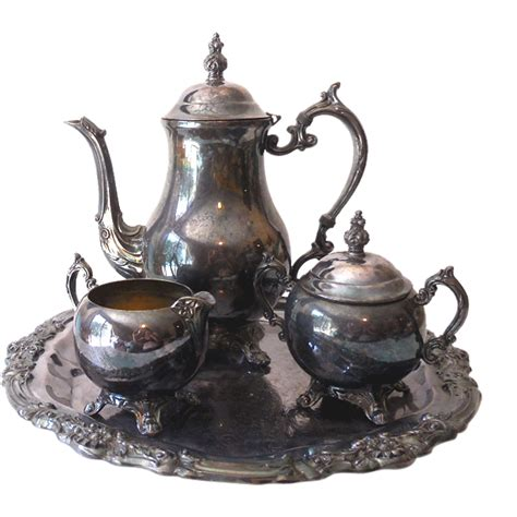 Mass Der Set Heavy Silver antique f b rogers silver plated coffee set from californiagirls on ruby