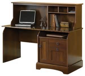 Sauder Graham Hill Computer Desk With Hutch Autumn Maple Sauder Graham Ridge Computer Desk With Hutch In Oak Transitional Computer Furniture