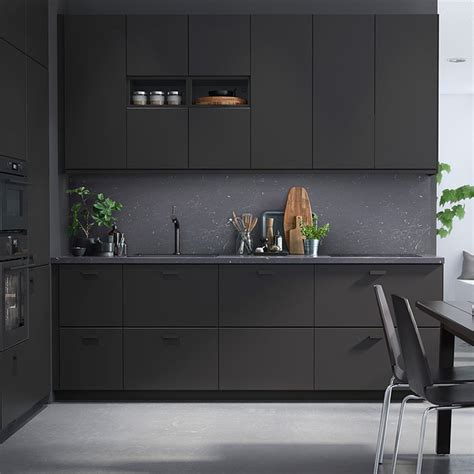 ikea black kitchen cabinets ikea kungsbacka by form us with kitchens interiors