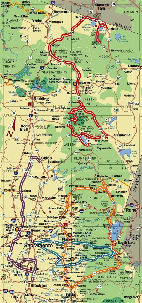 california map driving 17 best images about ca mt shasta n burney falls n mt