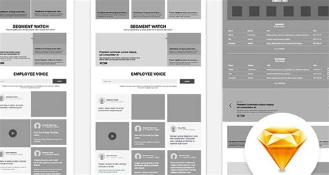 50 Free Wireframe Templates For Mobile Web And Ux Design Free Website Wireframe Templates