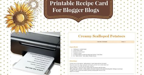 printable w 9 nj finally a printable recipe for blogger life and linda