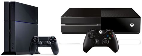 play station console new playstation 4 and xbox one consoles are coming