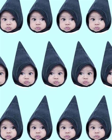 tutorial edit foto bayi 13 foto kekinian hasil aplikasi patternator kreatif banget