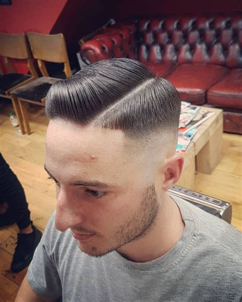 glasgow barber medium 17 best images about skin fade with pompadour on pinterest