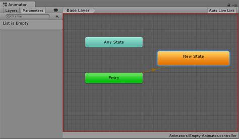 unity layout controller unity manual the animator window