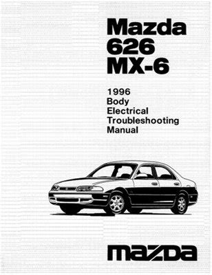 electric and cars manual 1992 mazda mx 6 seat position control электрические схемы mazda 626 mx 6 1996 electrical troubleshooting manual