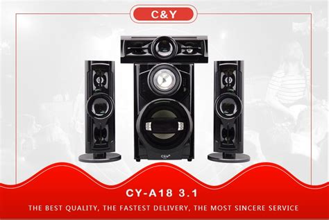 1 Unit Home Theater Multimedia C Y A18 3 1 Multimedia Stereo Home Theater Speaker System With Bluetooth Fm Bluetooth Speaker