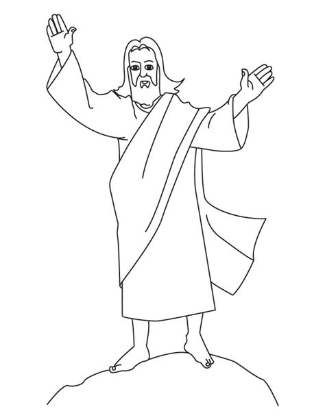 Color Pages Of Jesus Az Coloring Pages Coloring Page Of Jesus
