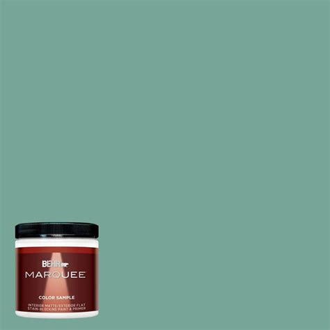 behr marquee 8 oz mq6 38 patina interior exterior paint sle mq30416 the home depot
