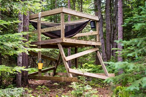 Building a Simple Freestanding Treehouse ? Yea Dads Home