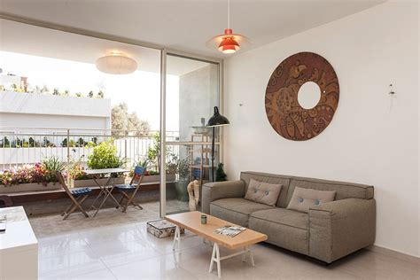 living room balcony design stylish seaside apartment in tel aviv gets a gorgeous green makeover