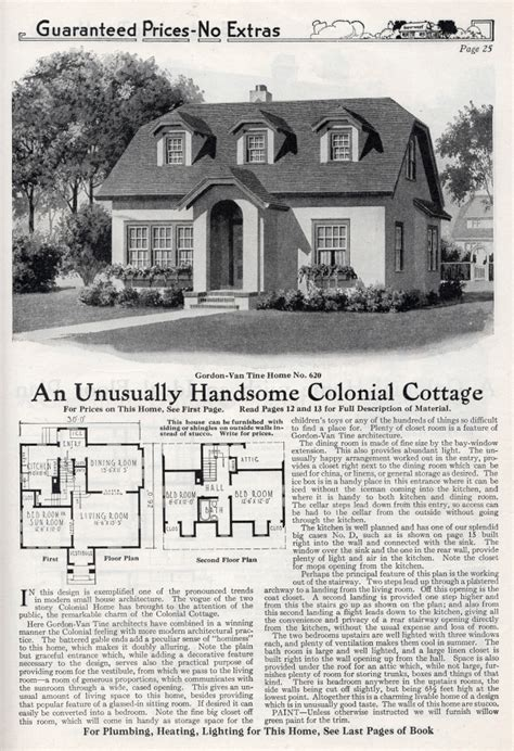 Pin By Rachel Shoemaker On Houses By Mail Sears Modern Gordon Tine House Plans