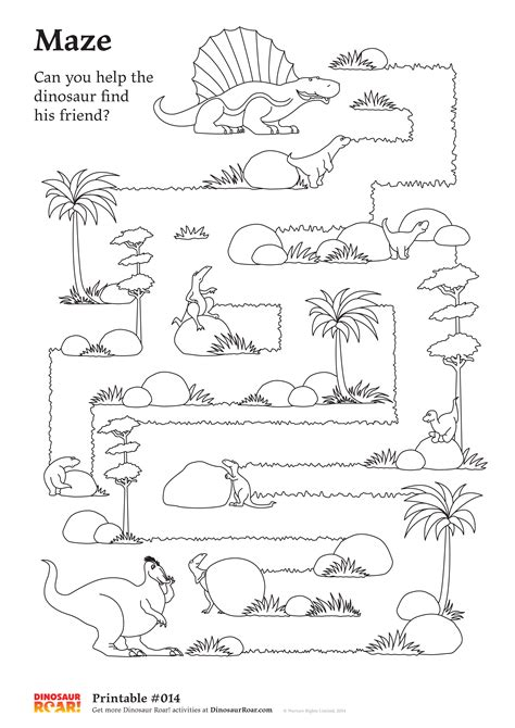 printable dinosaur maze dinosaur maze printable activity sheet can you help the