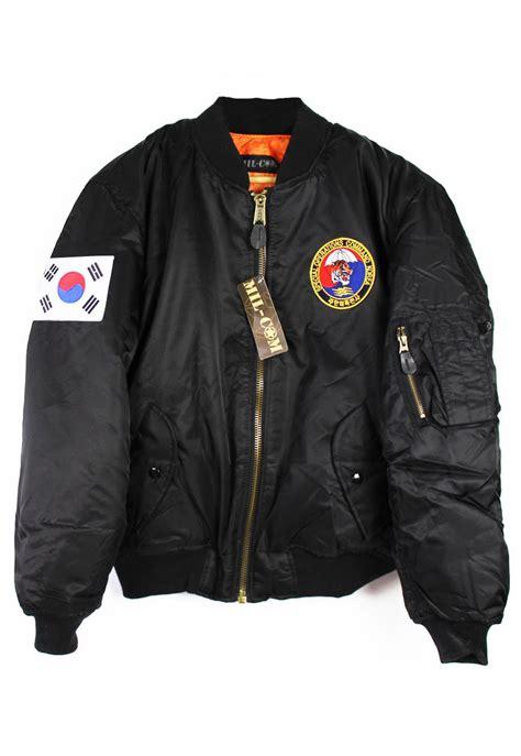 Korea Jacket by Special Ops Korea Ma 1 Bomber Jacket