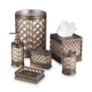 bed bath and beyond bathroom accessory sets chagne bath ensemble bed bath beyond