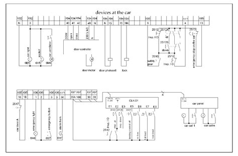 elevator electrical wiring diagram gas furnace junction box gas free engine image for user manual