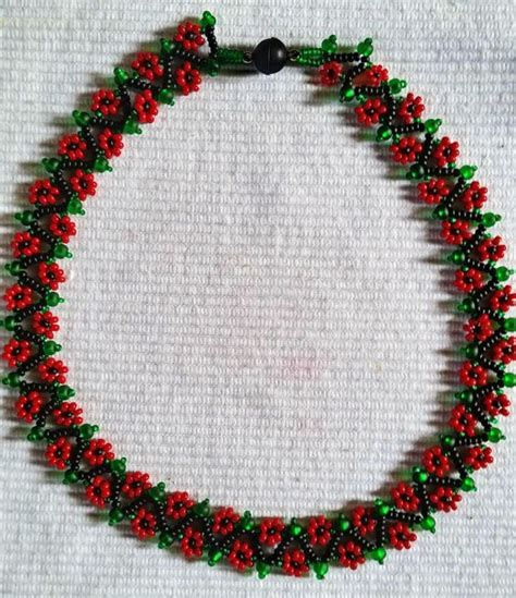 Handmade Bracelet Patterns - beading patterns and flowers on